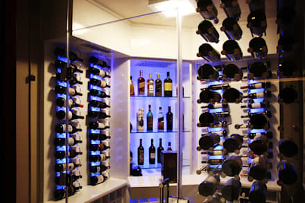 Ebotse Estate: modern Wine cellar by Vision Tribe