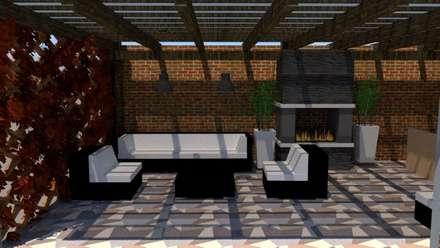 Sala de Star: Salas de estilo industrial por Fire Design AR