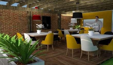 Comedor: Comedores de estilo escandinavo por Fire Design AR