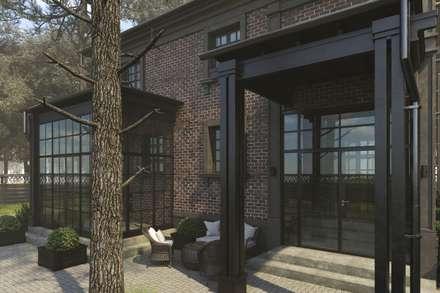 Casas de campo de estilo  por Антон Булеков