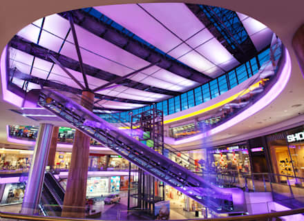 Shopping Centres by Ro Lighting Design
