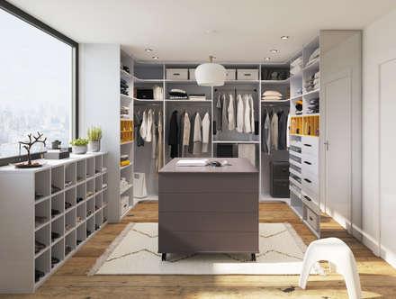 dressing images id es et d coration homify. Black Bedroom Furniture Sets. Home Design Ideas