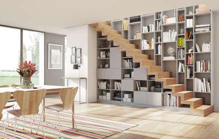 Ambiance Dressing - Rangement Escalier: Escalier de style  par Archi'Tendances.fr