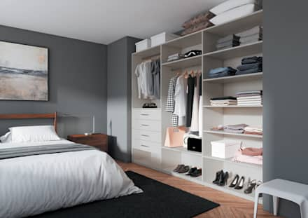 COULIDOOR dressing composable: Dressing de style de style Moderne par Archi'Tendances.fr