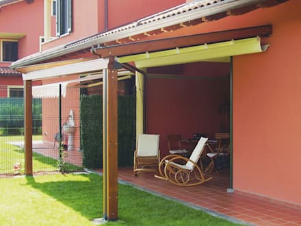 Lean-to roof by MITA Tende da Sole Torino
