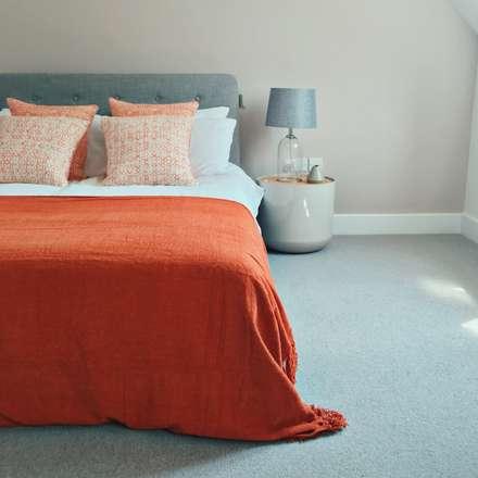 Dry Drayton Show-home: country Bedroom by Sara Slade Interiors