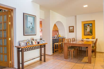 minimalistic Dining room by Bojorquez Arquitectos SA de CV