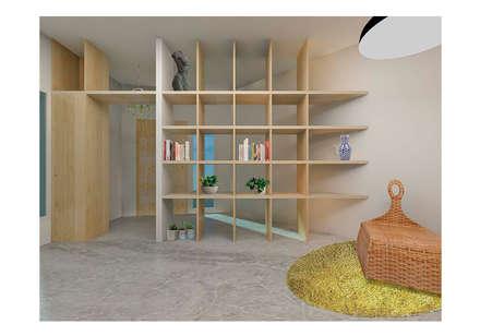 Casa LH: Casas de estilo industrial de PALERA arquitectos
