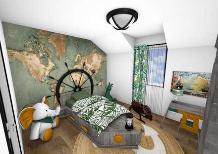 Chambre: Chambre d'enfant de style de style Moderne par Crhome Design