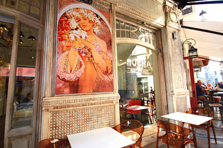 ร้านอาหาร by perez ipar arquitectura  e decoração