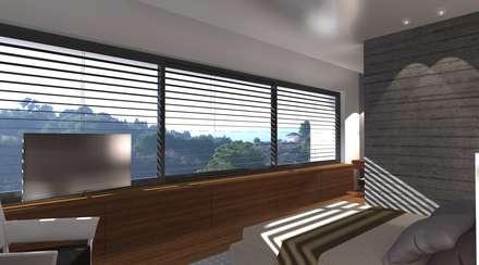 Ventanas de PVC de estilo  de perez ipar arquitectura  e decoração