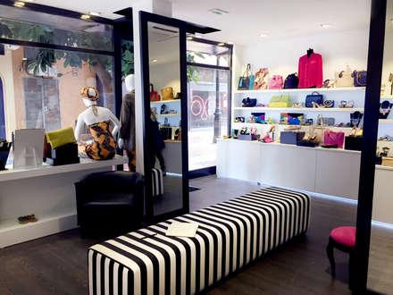 Cuplé Stores: Espacios comerciales de estilo  de Francisco Pomares
