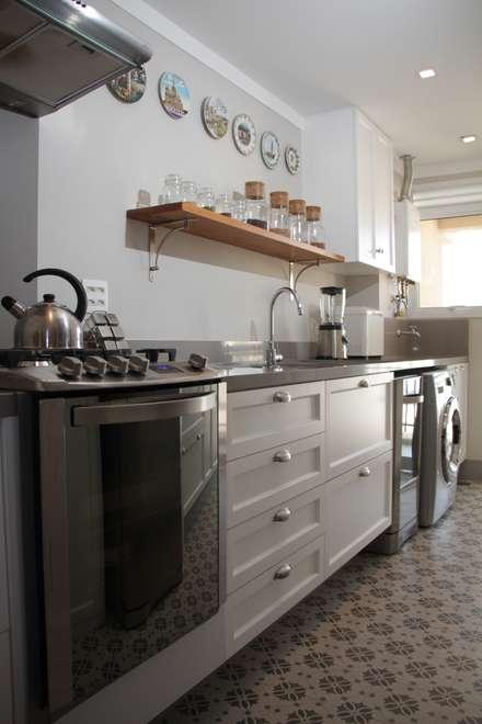 مطبخ ذو قطع مدمجة تنفيذ Arquitetura Ideal