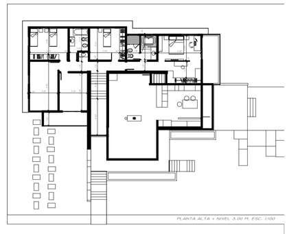 Detached home by Arquitecto Manuel Daniel Vilte