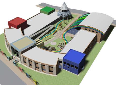 Школы и учебные заведения  в . Автор – Arquitecto Manuel Daniel Vilte