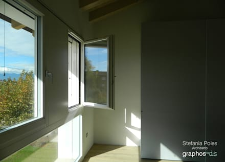 Casa GAIA  (Treviso): Camera da letto in stile In stile Country di GRAPHOS_DS