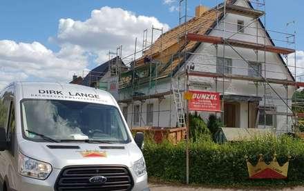 Dachsanierung in Bielefeld Heepen:  Dach von Dachdeckermeisterbetrieb Dirk Lange