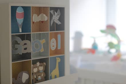 Baby room by CORES - Arquitetura e Interiores