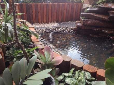 Lagoas de jardins  por Acua Natura