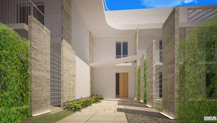 Corridor, hallway by mera architetti