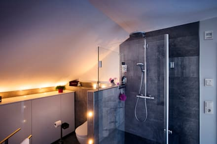 Holzhaus überrascht Mit Cleverem Energiekonzept   Ein Smart Home Muss Nicht  Teuer Sein: Moderne Badezimmer