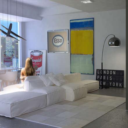 Living the Art: Porte in stile  di CLAMA Creative