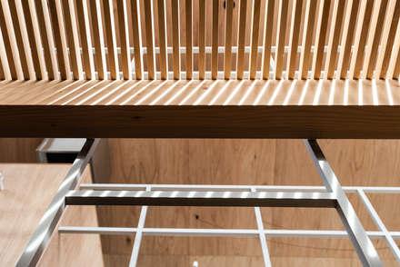Escaleras de estilo  por 株式会社 N&C一級建築士事務所