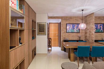 غرفة السفرة تنفيذ Stúdio Ninho