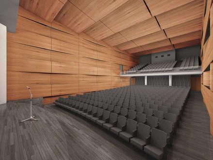 Conference Centres by Mauricio Morra Arquitectos