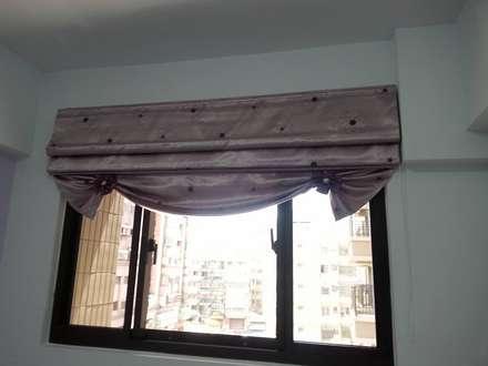 Janelas   por 藝舍室內裝修設計工程有限公司