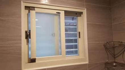 現代風。士林:  窗 by 藝舍室內裝修設計工程有限公司