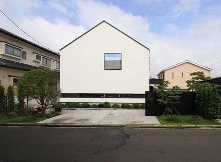 منزل خشبي تنفيذ 石川淳建築設計事務所