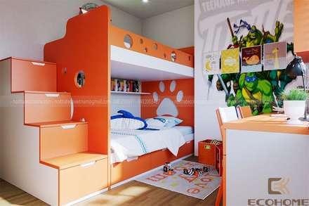 Phòng ngủ con :  Phòng trẻ em by Công Ty TNHH Xây Dựng & Nội Thất ECO Việt Nam