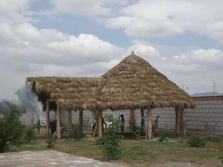 كوخ حديقة تنفيذ TECTUM Diseño & Construccion