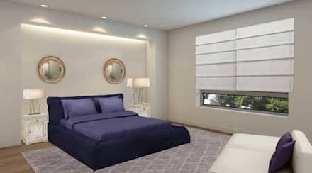 Apartamento Remodelado: Quartos modernos por Filomena Sobreiro - Decorações
