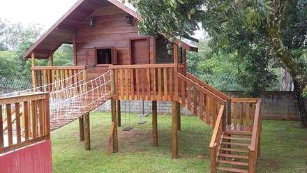 حديقة Zen تنفيذ AGM Construções e Reformas