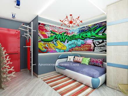 Boys Bedroom by Архитектурное Бюро 'Капитель'