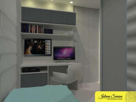 مكتب عمل أو دراسة تنفيذ Juliana Saraiva Arquitetura & Interiores