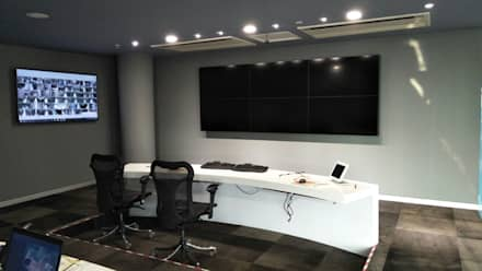 قاعة مؤتمرات تنفيذ Layout Studio