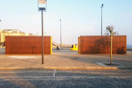 Parque Lúdico e Desportivo Bruno Alves na Póvoa de Varzim com madeira Accoya. : Pavimentos  por Banema S.A.