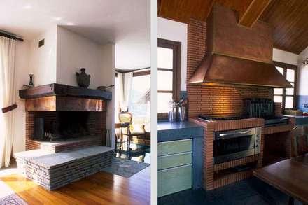UN ANGOLO DI PARADISO PER MAURIZIO CROZZA: Cucina in stile In stile Country di silvestri architettura
