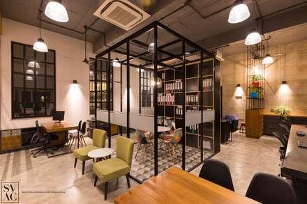 Work Space:  Commercial Spaces by SVAC  -  Suchi Vora Architecture Collaborative