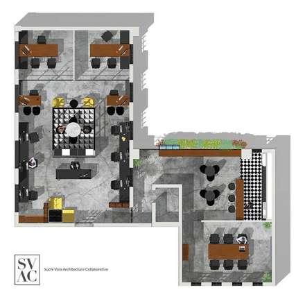 Project Layout:  Commercial Spaces by SVAC  -  Suchi Vora Architecture Collaborative