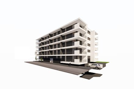 Exterior 1: Condomínios  por Clix Mais