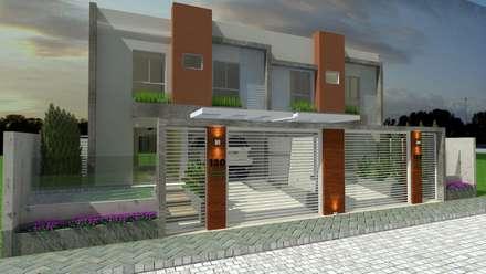 Многоквартирные дома в . Автор – MVK Arquitetura, Engenharia e Construções