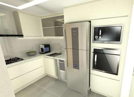 Cozinha: Cozinhas minimalistas por Studio All Arquitetura