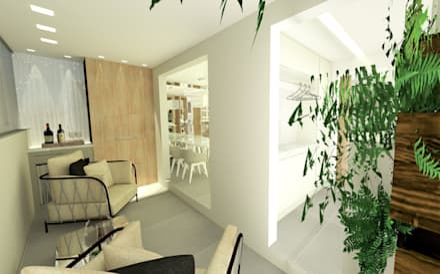 بيت زجاجي تنفيذ Studio All Arquitetura