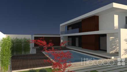 مسبح حديقة تنفيذ Método-Arquitectura & Decoração