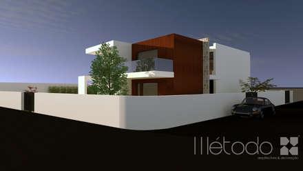 Fincas de estilo  por Método-Arquitectura & Decoração