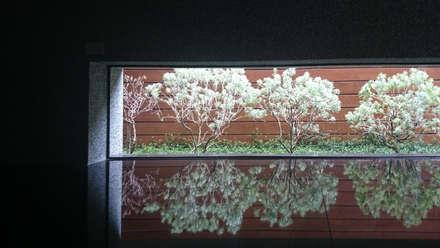 室內設計 五權 CD House:  窗 by 黃耀德建築師事務所  Adermark Design Studio